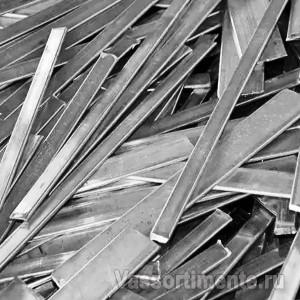 Полоса стальная 30х8 мм L=6 м ст. 40 ГОСТ 103-2006